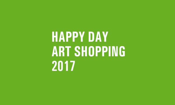 HAPPY DAY ART SHOPPING // 2017